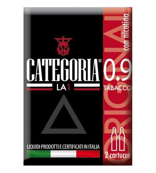 Categoria La1 2cartucce Original Tabacco