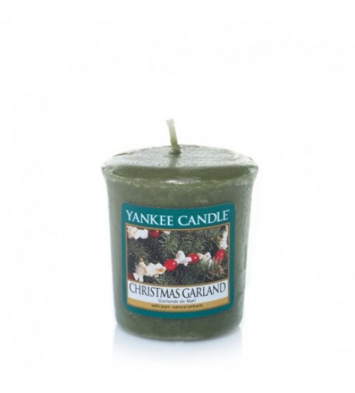 Yankee Candle Christmas Garland Votivo