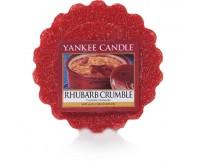 Tart Rhubarb Crumble
