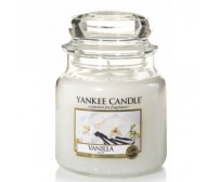 YANKEE CANDLE Vanilla Giara Media
