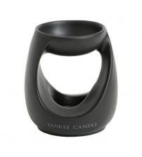 Yankee Candle Bruciatore Turning Stone Nero