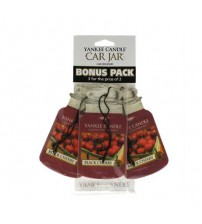 Yankee Candle Black Cherry Car Jar 3x2