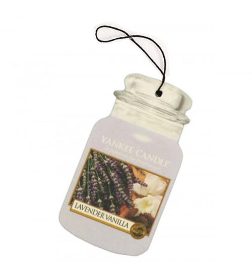Yankee Candle Lavender Vanilla Car Jar Singolo