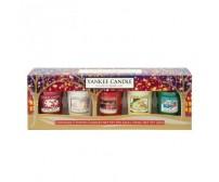 Confezione regalo 5 candele votive Yankee Candle