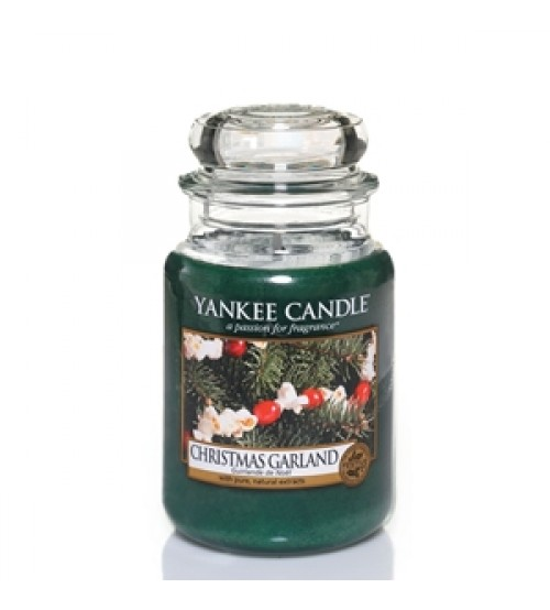 Yankee Candle Christmas Garland Giara Media