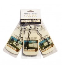 Yankee Candle Clean Cotton Car Jar 3x2