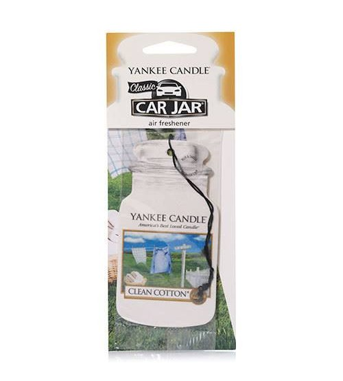 Yankee Candle Clean Cotton Car Jar Singolo