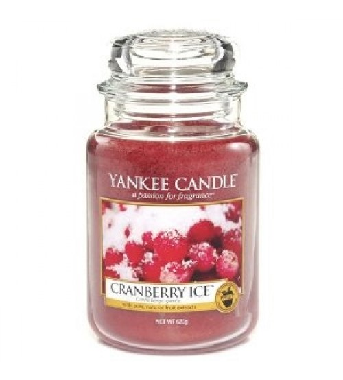 Yankee Candle Cranberry Ice Giara Grande