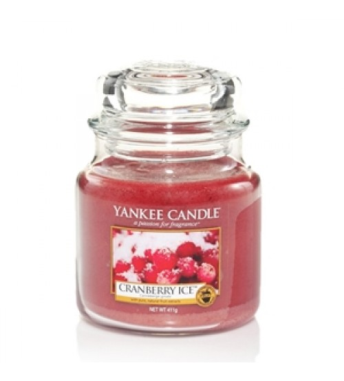 Yankee Candle Cranberry Ice Giara Media