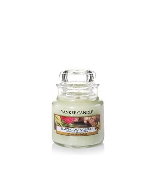 Yankee Candle Lemongrass Ginger Giara Piccola