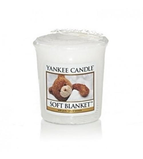 Yankee Candle Soft Blanket Candela Votiva
