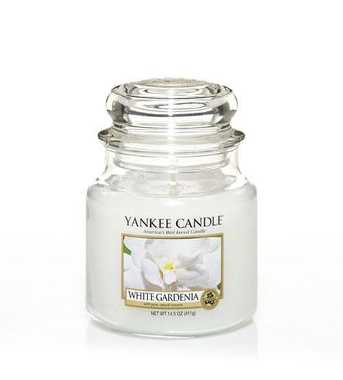 Yankee Candle White Gardenia Giara Media